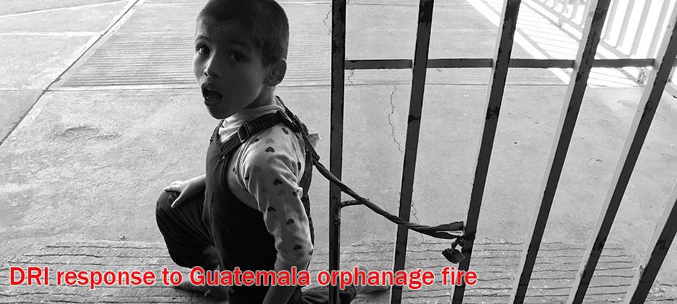 Guatemala fire banner response