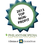 2013 Top Non-Profit, Philanthropedia, A division of Guidestar